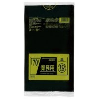 ジャパックス TM72 業務用ポリ袋70L 黒0.035 LL+meta 10枚入り×40冊【400枚】