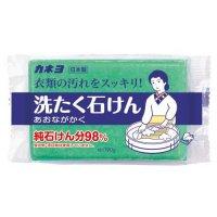 あおながかく 洗たく石けん 190g 【24個入り】