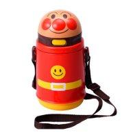 KK-318 アンパンマンストロー付き水筒(保冷タイプ) 【24個入り】