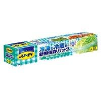 リード 冷凍も冷蔵も新鮮保存バッグ LL (10枚) 10枚入り×24箱【240枚】