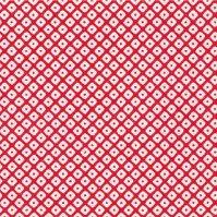 No.240 包装紙 鹿の子(赤) 4/6半切 【500枚入り】