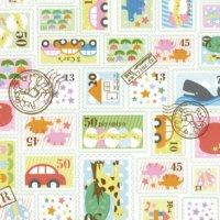 No.775 包装紙 プチスタンプ 4/6全判 【300枚入り】