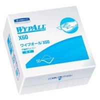 60560 ワイプオールX60 4つ折り 【18パック入り】