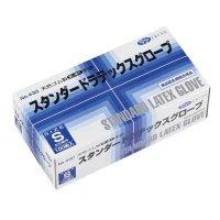 【新規受注停止中】No.430 スタンダードラテックスグローブ SS/S/M/L 【2000枚入り】(100枚×20箱)
