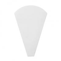 H-22-1 三角袋(白無地) 100枚入り×20束【2,000枚】