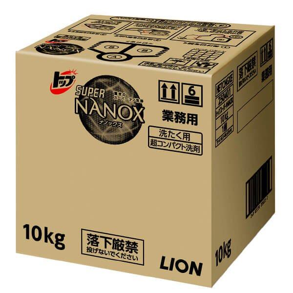 トップSUPER NANOX(スーパーナノックス)10kg 【1箱入り】が安い! 業務用品の大量購入なら激安通販びひん.shop。【法人なら掛け払い可能】【最短翌日お届け】【大口発注値引き致します】