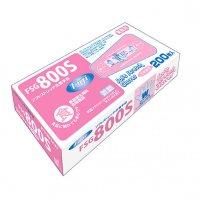 【新規受注停止中】FSG800 ソフトストレッチ抗菌手袋 S 【6000枚入り】(200枚×30箱)