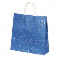 自動手提袋X型(3切) HX 風雅ブルー 【200枚入り】