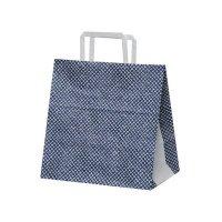 自動手提袋 平紐 H平26 シボリ 【200枚入り】