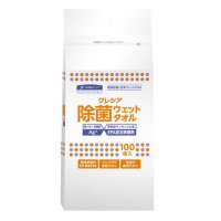 【新規受注停止中】クレシア 除菌ウェットタオル 詰め替え用 【20袋入り】