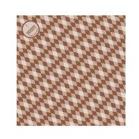 ラミクレープ包装紙 L四角 ブラウン 200枚袋 200枚入り×15袋【3,000枚】
