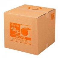 スクリット 柚子 ボディソープ 18L 【1箱入り】
