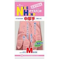 ナイスハンドエクストラ中厚手 M ピンク 【120双入り】