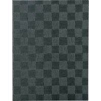 【最小購入数3冊】チェック柄メニュー MB-301(大・A4) グレーブラック/アイボリー/ブラウン