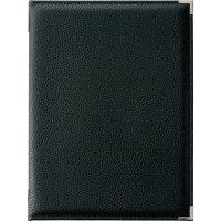 【最小購入数3冊】高級レザータッチソフトメニュー LB-251(大・A4) ブラック/ブラウン