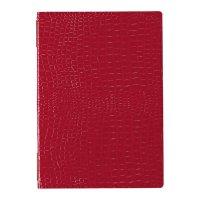 【最小購入数3冊】クロコレザータッチピンホールメニュー GB-121(大・A4) レッド/ブラウン/ブラック