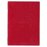 【最小購入数3冊】クロコレザータッチピンホールメニュー GB-122(中・B5) レッド/ブラウン/ブラック