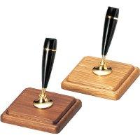 【最小購入数3個】木製ペンスタンド(1本タイプ) PSS-22 ウォルナット/ナラ