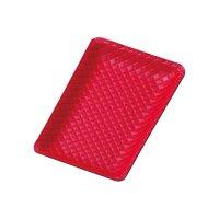 【最小購入数5個】合皮キャッシュトレイ CT-12 赤/黒