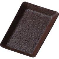 【最小購入数5個】合皮キャッシュトレイ CT-7 ブラウン/ブラック/レッド/ブルー