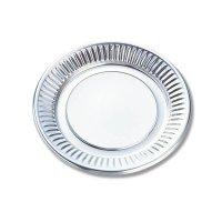 使い捨て取り皿 DX丸皿 K-3 BK 【1600枚入り】(100枚×16)