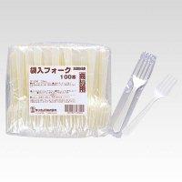 SF-100G 商い用袋入りフォーク 【5000本入り】(100本×50パック)