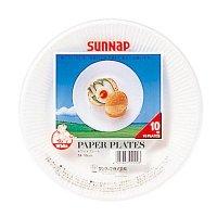 7A ホワイトプレート 18cm 【2400枚入り】(10枚×240パック)