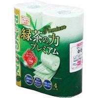 【最小購入数10ケース】ペンギン ティーフラボン緑茶の力 プレミアム トリプル 20m 【48ロール入り】(4ロール×12袋)