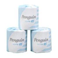 【最小購入数10ケース】ペンギン 1ロール シングル 65m 【100ロール入り】