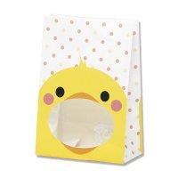 【ケース販売】 紙袋 窓付袋 パックンバッグ S1F ヒヨコ 【2,000枚入り】