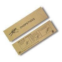 箸袋 ナチュラル原紙シリーズ ミニ37 NR-C CHOPSTICKS 【10,000枚入り】