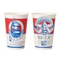 デキシー ビールカップ 494ml(16オンス) GCSP16BE 50個入り×20【1,000個】