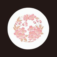 遊膳 CO-13 花雅コースター 丸 桜 【100枚入り】