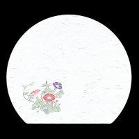 遊膳 HA-022 尺三半月まっと 朝顔 【100枚入り】