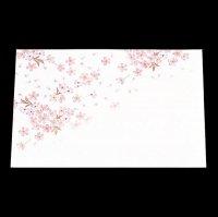 遊膳 HM-1 抗菌尺三まっと花雅 桜 【100枚入り】