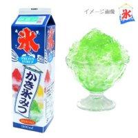 【最小購入数8本】 かき氷蜜 1.8L メロン 【1本入り】