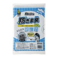 ジャパックス STF03 防臭袋策 防ぎま臭 乳白 Lサイズ 0.030 【1500枚入り】(50枚×30冊)