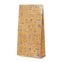No.2413 Y-4 洋品袋 ベアコレクション(ブルー) 【1000枚入り】