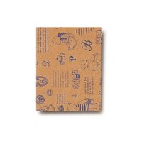No.2746 小袋(平袋) ベアコレクション(ブルー) 3号 【2000枚入り】