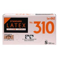 【新規受注停止中】No.310 ラテックス スタンダード (粉付) S 【2000枚入り】(100枚×20箱)