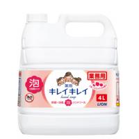 キレイキレイ薬用泡ハンドソープ フルーツミックスの香り 4L 【3個入り】