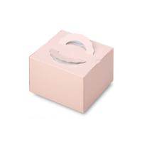 ケーキ箱 H140 手提げデコTD シェルP 4.5号/5号/6号 【100枚入り】