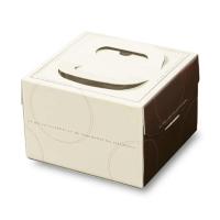 ケーキ箱 H130 FB マローネ 4.5号/5号/L6号 【100枚入り】