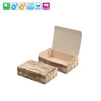 ファインBOX 竹皮柄(小) 50枚×12袋【600枚】