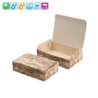 ファインBOX 竹皮柄(大) 50枚×12袋【600枚】