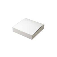 お好み焼き箱(白無地) W-OK190-40 50枚×8袋【400枚】
