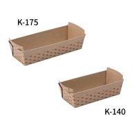 ベイキング テーパートレイ 小紋E KL-140/KL-175 【500枚入り】(50枚×10束)