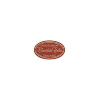 デリシャスチョコレートケーキ シール 【2500枚入り】(20枚×125)