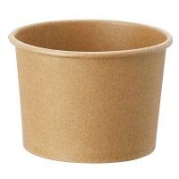 HEIKO アイスカップ 3.5オンス(約150ml) クラフト 本体/蓋 【1000個入り】(50個×20)
