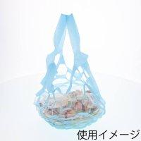 HEIKO 不織布テイクアウト袋 のび×2バッグ L ブルー 100枚×20【2000枚】